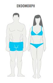 endomorf se luptă să piardă în greutate